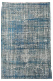 Colored Vintage Rug 182X275 Authentic  Modern Handknotted Blue/Light Grey (Wool, Turkey)
