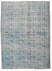 Colored Vintage Rug 186X255 Authentic  Modern Handknotted Light Grey (Wool, Turkey)