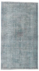 Colored Vintage Rug 152X268 Authentic  Modern Handknotted Light Grey (Wool, Turkey)