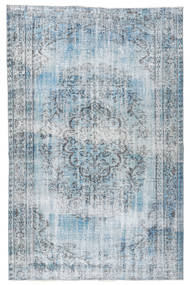 Colored Vintage Rug 166X253 Authentic  Modern Handknotted Light Blue/Light Grey/Beige (Wool, Turkey)