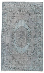 Colored Vintage Rug 185X305 Authentic  Modern Handknotted Light Grey (Wool, Turkey)