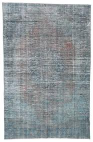 Colored Vintage Rug 203X310 Authentic  Modern Handknotted Dark Grey/Light Grey/Light Blue (Wool, Turkey)