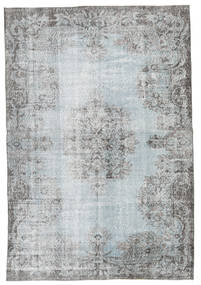 Colored Vintage Rug 170X250 Authentic  Modern Handknotted Light Grey/Turquoise Blue (Wool, Turkey)
