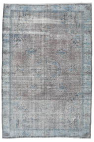 Colored Vintage Rug 198X297 Authentic  Modern Handknotted Light Grey/Light Purple (Wool, Turkey)