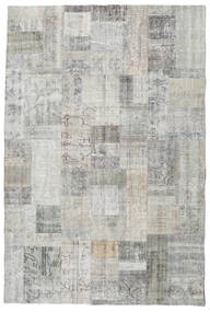 Patchwork Rug 200X300 Authentic  Modern Handknotted Light Grey/Beige (Wool, Turkey)