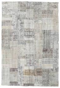 パッチワーク 絨毯 201X300 モダン 手織り 薄い灰色/ベージュ (ウール, トルコ)