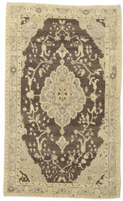 Taspinar Rug 136X227 Authentic  Oriental Handknotted Olive Green/Beige (Wool, Turkey)