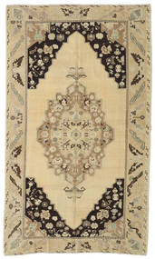 Taspinar Rug 167X280 Authentic  Oriental Handknotted Light Brown/Yellow (Wool, Turkey)