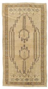 Taspinar Rug 98X185 Authentic  Oriental Handknotted Dark Beige/Light Brown (Wool, Turkey)