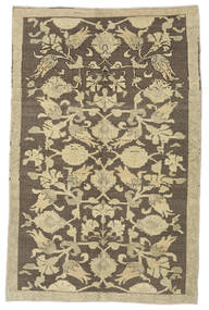 Taspinar Rug 140X215 Authentic  Oriental Handknotted Dark Grey/Olive Green (Wool, Turkey)
