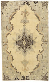 Taspinar Rug 134X223 Authentic  Oriental Handknotted Beige/Dark Beige/Light Green (Wool, Turkey)