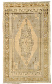 Taspinar Rug 135X227 Authentic Oriental Handknotted Light Brown/Dark Beige (Wool, Turkey)