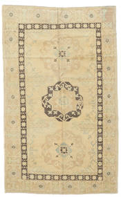 Taspinar Rug 142X231 Authentic Oriental Handknotted Yellow/Dark Beige (Wool, Turkey)