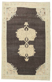 Taspinar Rug 139X224 Authentic  Oriental Handknotted Dark Beige/Dark Grey/Dark Brown (Wool, Turkey)