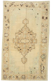 Taspinar Rug 155X265 Authentic Oriental Handknotted Yellow/Dark Beige/Light Brown (Wool, Turkey)