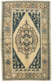 Taspinar Rug 168X270 Authentic Oriental Handknotted Light Green/Yellow (Wool, Turkey)