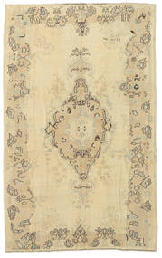 Taspinar Rug 148X238 Authentic Oriental Handknotted Yellow/Dark Beige (Wool, Turkey)