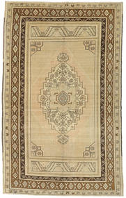 Taspinar Rug 161X260 Authentic Oriental Handknotted Light Brown/Light Green (Wool, Turkey)