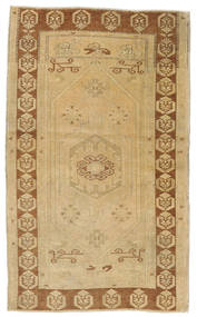 Taspinar Rug 108X180 Authentic Oriental Handknotted Light Brown/Brown (Wool, Turkey)