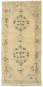 Taspinar Teppe 157X338 Ekte Orientalsk Håndknyttet Gul/Lysgrønn (Ull, Tyrkia)