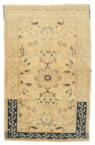 Taspinar Rug 111X173 Authentic  Oriental Handknotted Dark Beige/Beige (Wool, Turkey)