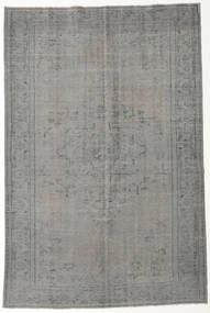 Colored Vintage Rug 197X294 Authentic  Modern Handknotted Dark Grey/Light Grey (Wool, Turkey)