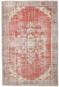 Colored Vintage Rug 190X290 Authentic  Modern Handknotted Light Pink/Light Brown (Wool, Turkey)