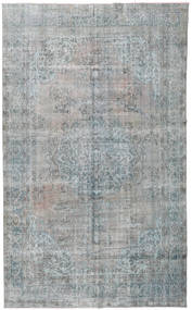 Colored Vintage Rug 206X330 Authentic  Modern Handknotted Light Grey (Wool, Turkey)