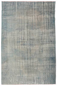 Colored Vintage Rug 205X313 Authentic Modern Handknotted Light Grey/Dark Grey (Wool, Turkey)