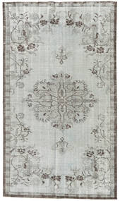 Colored Vintage Rug 151X264 Authentic  Modern Handknotted Light Grey (Wool, Turkey)