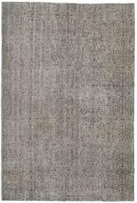 Colored Vintage Rug 206X307 Authentic  Modern Handknotted Light Grey/Dark Grey (Wool, Turkey)