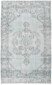 Colored Vintage Rug 166X272 Authentic  Modern Handknotted Light Grey/White/Creme (Wool, Turkey)