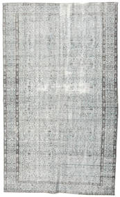 Colored Vintage Rug 161X270 Authentic  Modern Handknotted Light Grey/Beige (Wool, Turkey)