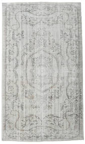 Colored Vintage Rug 154X270 Authentic  Modern Handknotted Light Grey (Wool, Turkey)