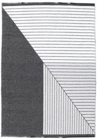 Diagonal - Black / Grey carpet CVD21671