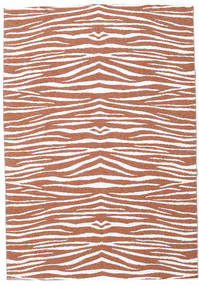 Zebra - Rust Rug 150X210 Modern Brown/Light Grey ( Sweden)