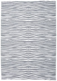 Zebra - Grau Teppich  200X280 Moderner Hellblau/Beige ( Schweden)