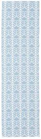 Arch - Blauw Tapijt 70X300 Modern Tapijtloper Lichtblauw/Beige ( Zweden)
