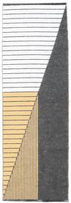 Diagonal - Black / Yellow carpet CVD21754