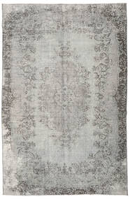 Colored Vintage Rug 193X298 Authentic  Modern Handknotted Light Grey/Dark Grey (Wool, Turkey)