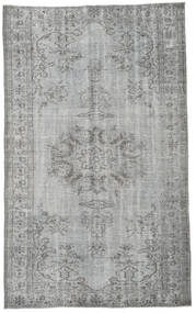 Colored Vintage Rug 164X267 Authentic  Modern Handknotted Light Grey/Dark Grey (Wool, Turkey)