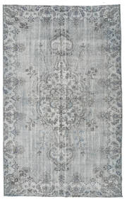Colored Vintage Rug 173X281 Authentic  Modern Handknotted Light Grey/Turquoise Blue (Wool, Turkey)