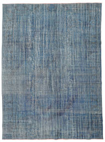 Colored Vintage Rug 225X305 Authentic  Modern Handknotted Blue/Dark Blue (Wool, Turkey)