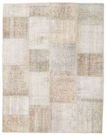 Patchwork Rug 196X253 Authentic  Modern Handknotted Light Grey/Light Brown (Wool, Turkey)