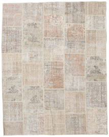 Patchwork Rug 200X254 Authentic  Modern Handknotted Light Grey/Light Brown (Wool, Turkey)