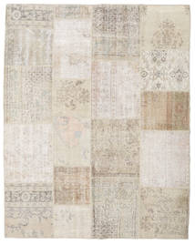 Patchwork Rug 198X251 Authentic  Modern Handknotted Light Grey/Light Brown (Wool, Turkey)
