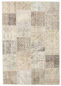 Patchwork Rug 158X231 Authentic  Modern Handknotted Light Brown/Dark Beige (Wool, Turkey)