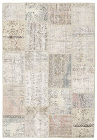 Patchwork Rug 156X231 Authentic  Modern Handknotted Light Grey/Light Brown (Wool, Turkey)