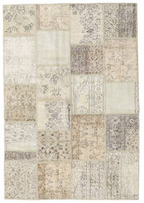 Patchwork Rug 157X231 Authentic  Modern Handknotted Light Brown/Beige (Wool, Turkey)