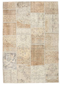 Patchwork Rug 157X233 Authentic  Modern Handknotted Light Grey/Beige (Wool, Turkey)